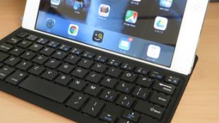 iPad miniにくっつけて使えるキーボード、Ankerのウルトラスリムキーボードカバーはすばらしい。