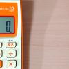 CASIOの電卓の税率変更の設定方法。