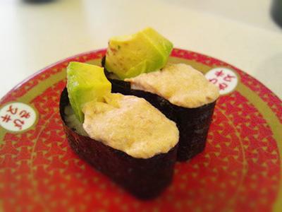 はは寿司のツナアボカド