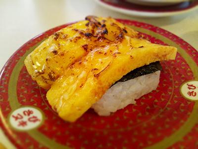 はま寿司の炙りたまごチーズ