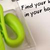 いつものカバンにサクッと鍵の置き場を作っちゃう。あると便利なキークリップ。