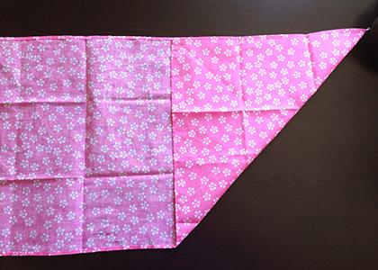 てぬぐい巾着作り方2