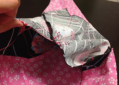 てぬぐい巾着縫い方2