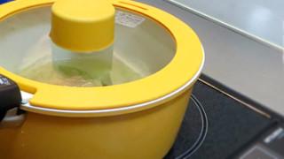 セラミッククイックパンを半年使った使用レポ。20cmの鍋について。