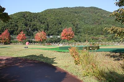 虹の湖のパターゴルフ場
