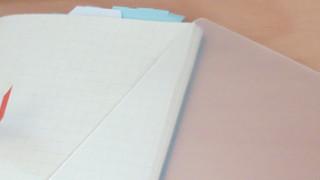 PPシートで手帳サイズの下敷きを作ってみた話。