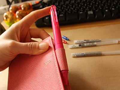 ジェットストリーム3色仕様と手帳